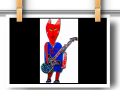 Devil With Guitar